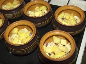 Чанахи из баранины в горшочках - фото шаг 2