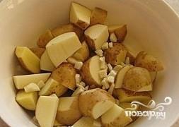 Картофель в рукаве в духовке - фото шаг 4