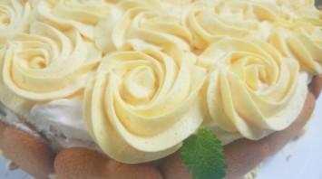 Kрем с желатином для торта - фото шаг 5