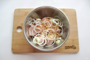 Шашлык на решетке в духовке - фото шаг 4