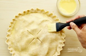 Закрытый яблочный пирог - фото шаг 8