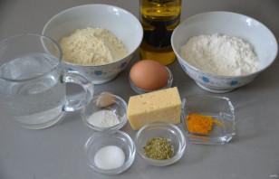 Кукурузные лепешки с сыром - фото шаг 1