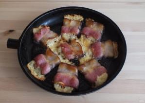 """Горячие бутерброды с беконом и горчицей """"Махеевъ"""" - фото шаг 8"""