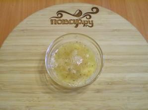 Жареные кабачки в яйце и муке - фото шаг 3