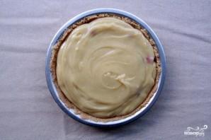 Быстрый пирог с малиной - фото шаг 5