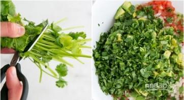Салат из морепродуктов с авокадо - фото шаг 3