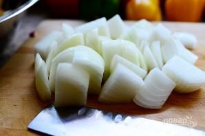 Овощной гарнир к мясу - фото шаг 2