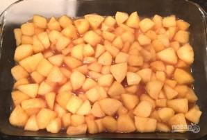 Яблочный коблер - фото шаг 6