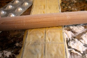 Равиоли с сыром и ветчиной - фото шаг 13