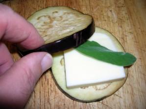 Баклажаны с сыром и чесноком - фото шаг 4