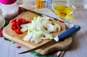 Салат из огурцов с перцем и луком на зиму - фото шаг 3
