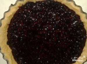 Постный черничный пирог - фото шаг 7