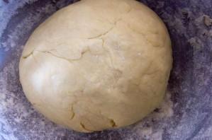 Хачапури из творожного теста с сыром - фото шаг 4