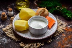 Картошка со сметаной и чесноком - фото шаг 1