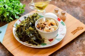 Салат из морской капусты и морского коктейля - фото шаг 1