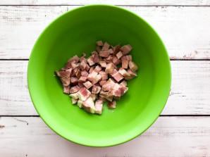 Картофельный киш с ветчиной и сыром - фото шаг 2