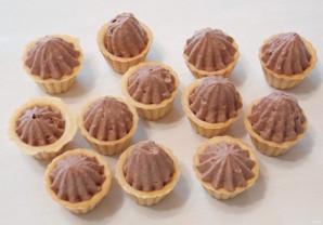 Шоколадный крем-чиз на сливках - фото шаг 8