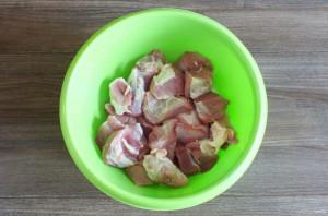 Шашлык в яблочном маринаде - фото шаг 2