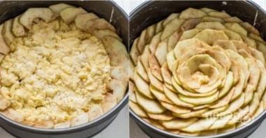 """Тарт """"Пион"""" с яблоком - фото шаг 4"""
