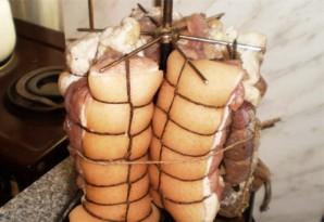 Свинина горячего копчения в коптильне - фото шаг 4