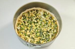 Вкусный пирог с зеленым луком и яйцами - фото шаг 8