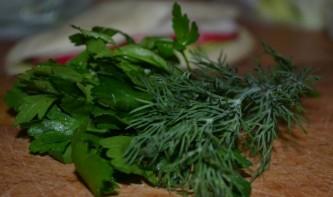 Салат в пите - фото шаг 3