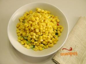 Крабовый салат из крабовых палочек - фото шаг 4