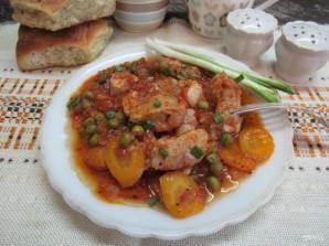 Мясо, тушеное в томатном соусе (Spеzzatino al pomodoro) - фото шаг 8