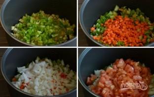 Овощи в мультиварке - фото шаг 3