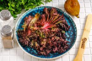 Салат с инжиром и моцареллой - фото шаг 2