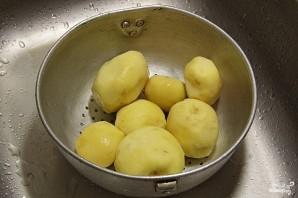 Картофель в сливках в мультиварке - фото шаг 1