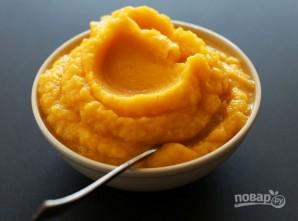 Суп-пюре из тыквы с чесноком - фото шаг 3