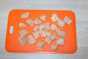 Паста с грудкой и грибами - фото шаг 4