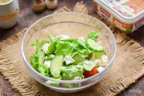 Салат с авокадо и оливками - фото шаг 3