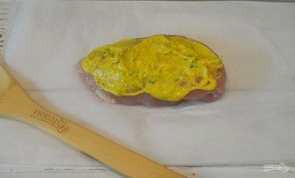 Курица под абрикосово-горчичным соусом - фото шаг 5