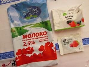 Низкокалорийный йогурт - фото шаг 1