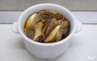 Грибная солянка без капусты - фото шаг 2