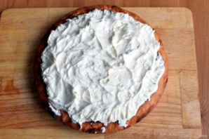 Пирог с  творогом и киви - фото шаг 6