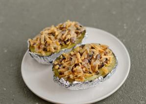 Крошка картошка с грибами - фото шаг 7
