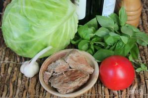 Салат из капусты с говядиной - фото шаг 1