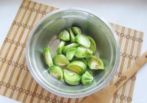 Салат из зеленых помидоров по-грузински - фото шаг 2