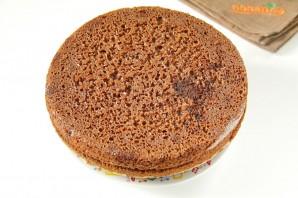 Шоколадный тортик - фото шаг 14