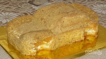 "Торт ""Молния Маквин"" - фото шаг 6"