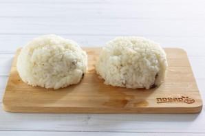 Рисовые зразы с грибами - фото шаг 5