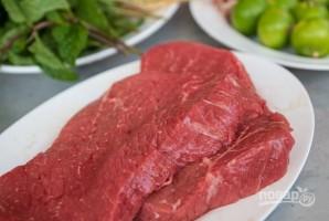 Теплый тайский салат с говядиной - фото шаг 2
