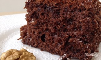 Очень вкусный шоколадный пирог - фото шаг 9