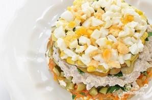 Салат из индейки с солеными огурцами - фото шаг 3