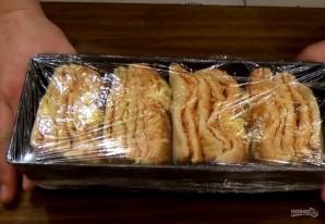 "Хлеб ""Гармошка"" на пиве с сыром - фото шаг 5"
