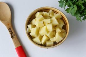 Суп с гречкой и фасолью - фото шаг 4