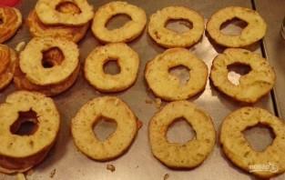 Заварные кольца с творожным кремом - фото шаг 6